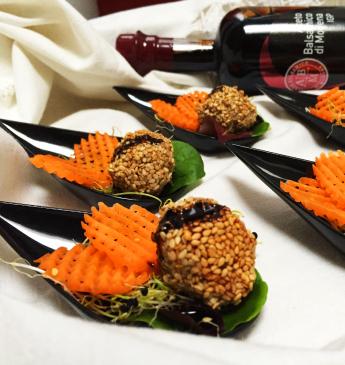 Polpettine di lenticchie finger-food