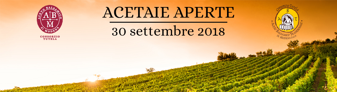 ACETAIE APERTE 2018 CON COOKING SHOW E COCKTAIL