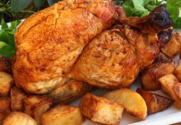 Pollo arrosto glassato all'Aceto Balsamico di Modena IGP