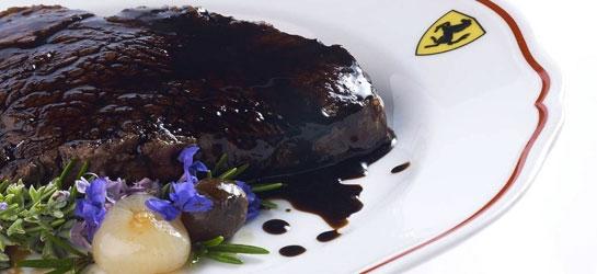 Fillet of beef with Balsamic Vinegar of Modena PGI
