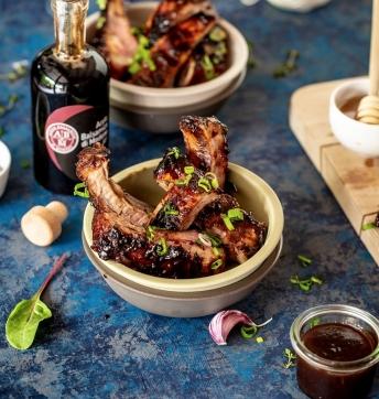 Ribs de Porc au miel et Vinaigre Balsamique de Modène IGP
