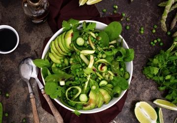 Salade toute verte au Vinaigre Balsamique de Modène IGP