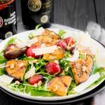 Salade de roquette aux tomates et Vinaigre Balsamique de Modène IGP