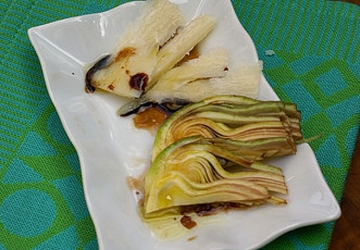Artichokes Salad with Aged Balsamic Vinegar of Modena IGP and Parmigiano Reggiano Cheese