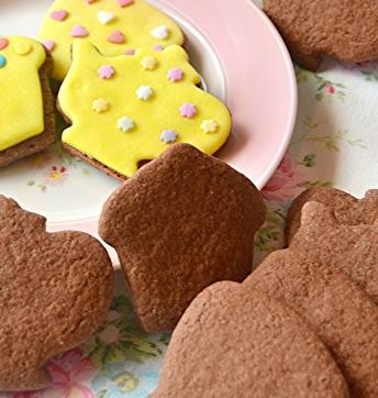Biscotti al cioccolato profumati al fleur de sel e aceto balsamico di Modena IGP