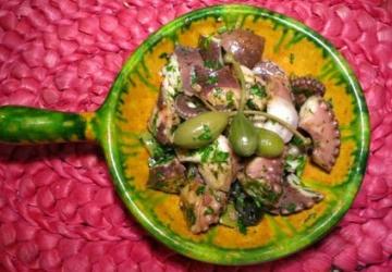 Insalata di polipo con Aceto Balsamico di Modena IGP