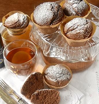 Tortine con farina di castagna ricotta e Aceto Balsamico di Modena IGP