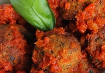 Boulettes de courgettes avec coeur de mozzarella sans friture