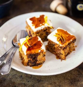 Carrot cake au Vinaigre Balsamique de Modène IGP