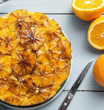 Caramelised orange cake with Balsamic Vinegar from Modena