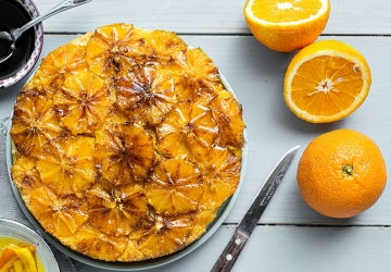 Caramelised orange cake with Balsamic Vinegar from Modena