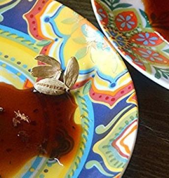 Masal Chai Panna cotta with Balsamic Vinegar of Modena PGI