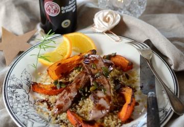 Canard à l'orange et Vinaigre Balsamique de Modène IGP
